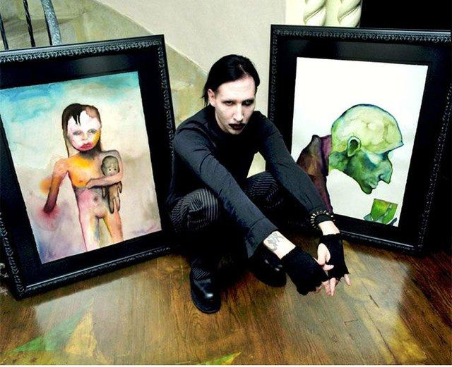 Рідкісні картини, намальовані знаменитостями - фото 330032