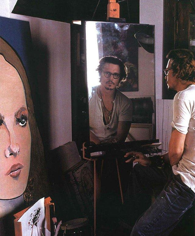 Рідкісні картини, намальовані знаменитостями - фото 330034