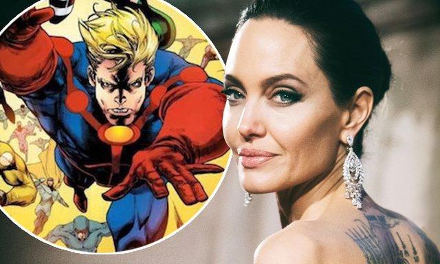Анджеліна Джолі приєдналася до Marvel   - фото 330097