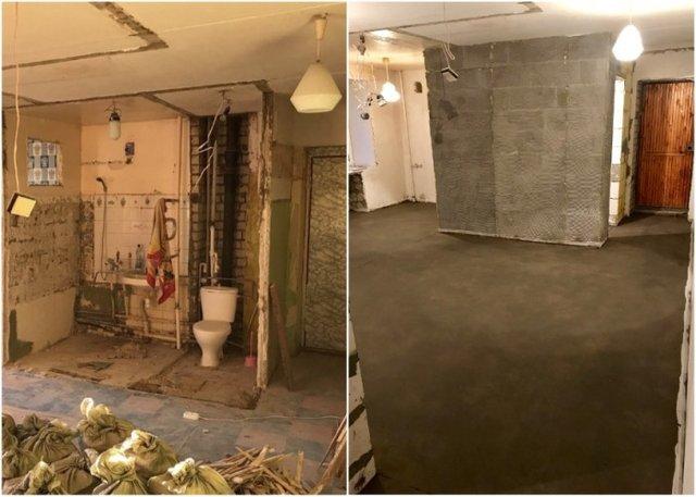 Хлопець перетворив хрущовку на шикарну квартиру-студію - фото 330223
