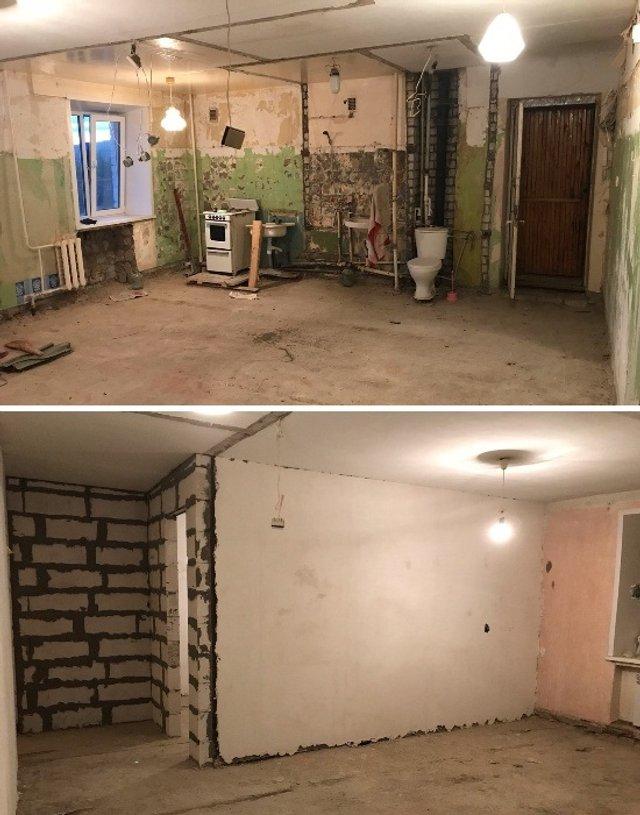 Хлопець перетворив хрущовку на шикарну квартиру-студію - фото 330225