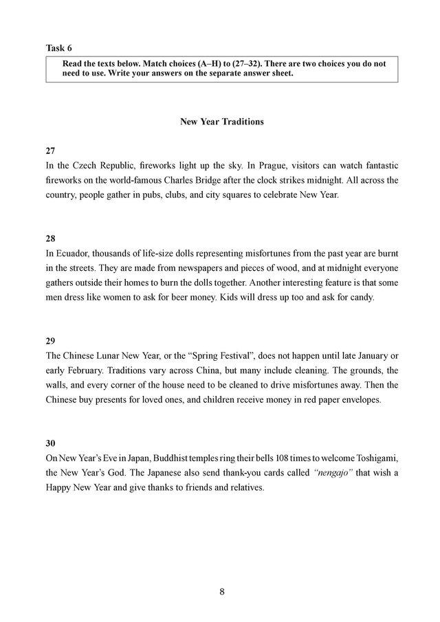 ЗНО 2019 з англійської мови: з'явилися завдання тестів та теми твору - фото 330377