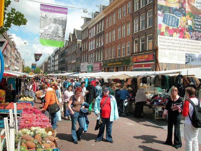 Albert Cuyp Market – відкритий ринок - фото 330596