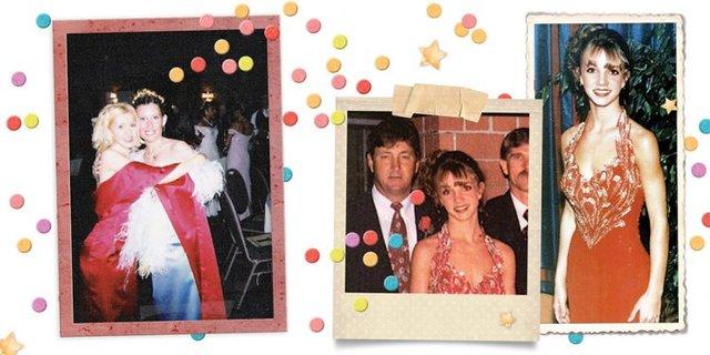 Зірки показали, як вони виглядали на своєму випускному: треш і угар - фото 330677