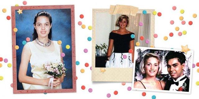 Зірки показали, як вони виглядали на своєму випускному: треш і угар - фото 330678