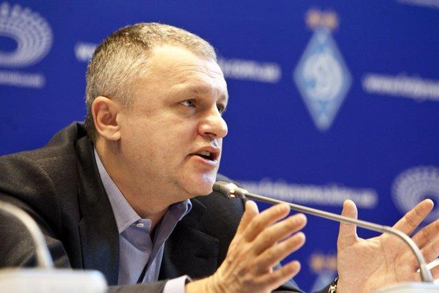 Суркіс про майбутнє Хацкевича у Динамо  - фото 330739