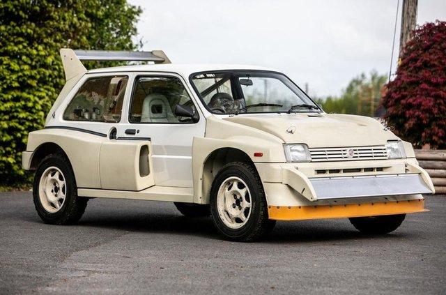 Родом з вісімдесятих: на аукціоні продадуть новий MG Metro 6R4 - фото 330795