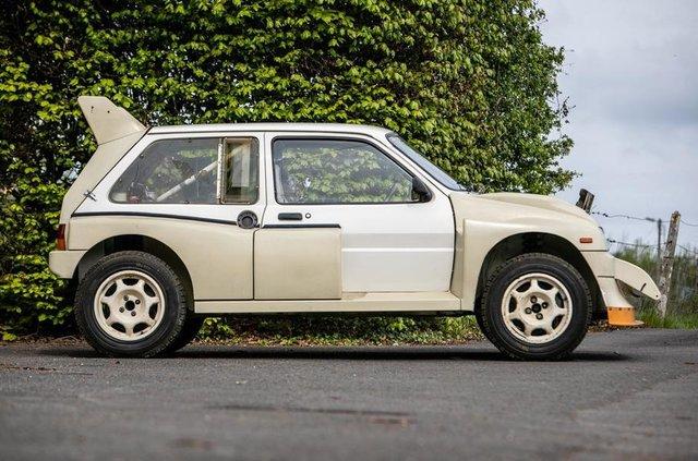 Родом з вісімдесятих: на аукціоні продадуть новий MG Metro 6R4 - фото 330798