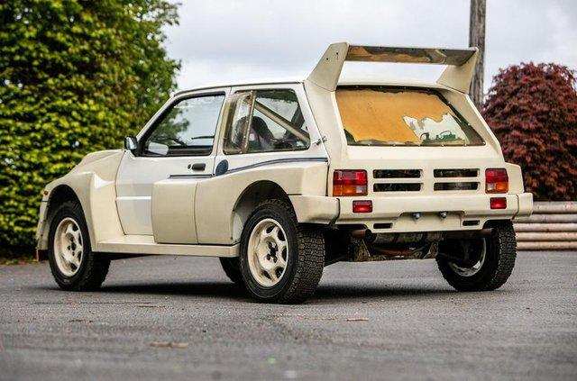 Родом з вісімдесятих: на аукціоні продадуть новий MG Metro 6R4 - фото 330799