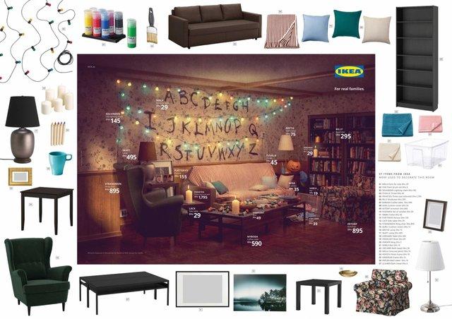 Друзі, Сімпсони та Дуже дивні справи: IKEA відтворила популярні інтер'єри з серіалів - фото 330830