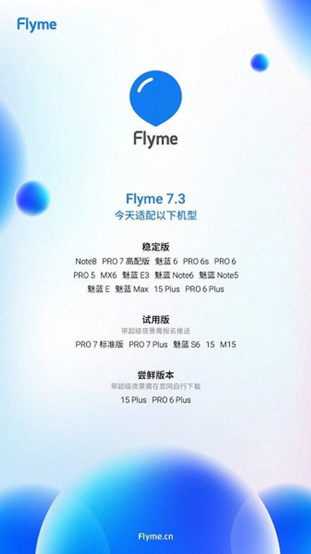 Meizu анонсувала масштабне оновлення Flyme 7: відомі моделі смартфонів - фото 330961