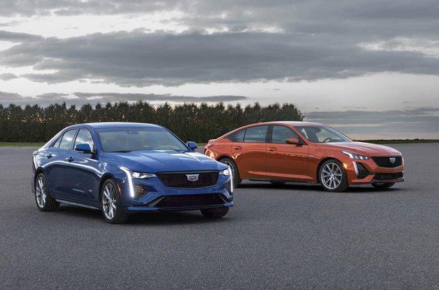 Cadillac представив два 'заряджені' седани - фото 331183