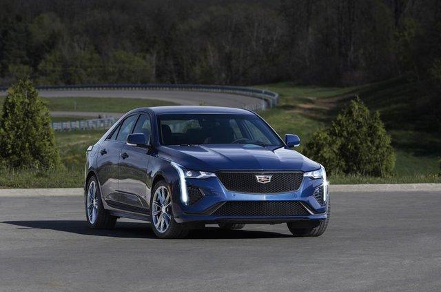 Cadillac представив два 'заряджені' седани - фото 331192