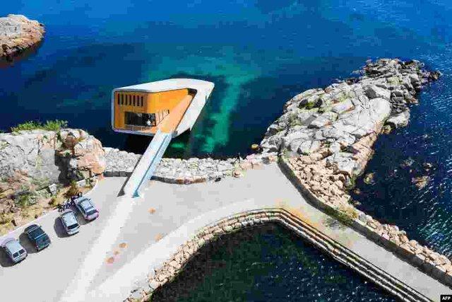 У Норвегії відкрили перший в Європі підводний ресторан - фото 331498
