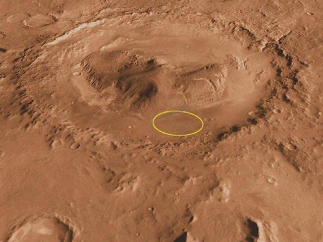 На Марсі знайшли глину - фото 331532