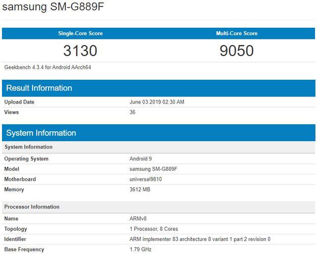 Невідомий Samsung засвітився у базі даних бенчмарку - фото 331658