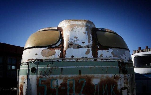 На звалищі знайшли унікальний львівський автобус - фото 331727