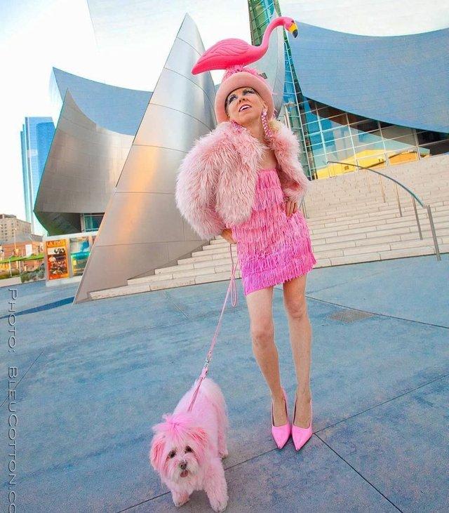 Рожеве життя: американка-барбі підкорює мережу - фото 331839