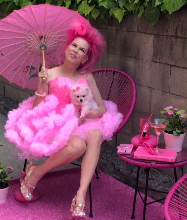 Рожеве життя: американка-барбі підкорює мережу - фото 331843