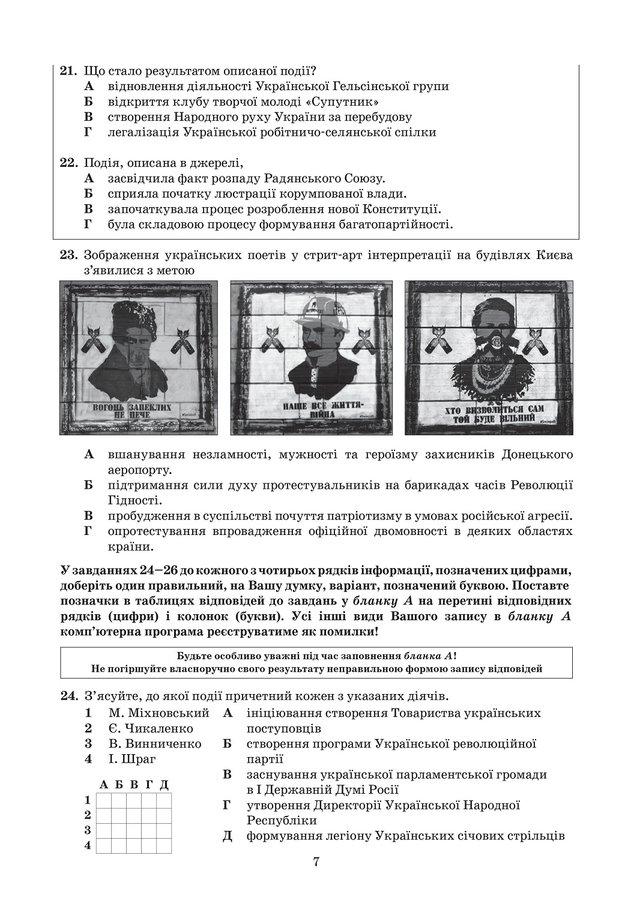 ЗНО з історії України 2019: опубліковані завдання цьогорічного тесту - фото 331903