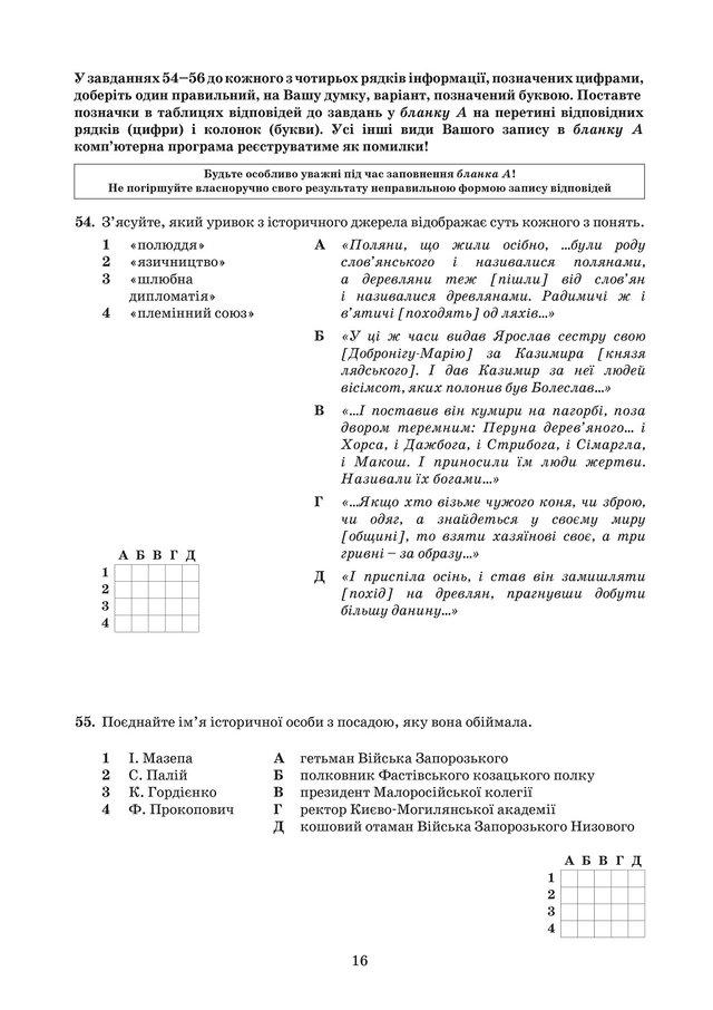 ЗНО з історії України 2019: опубліковані завдання цьогорічного тесту - фото 331912