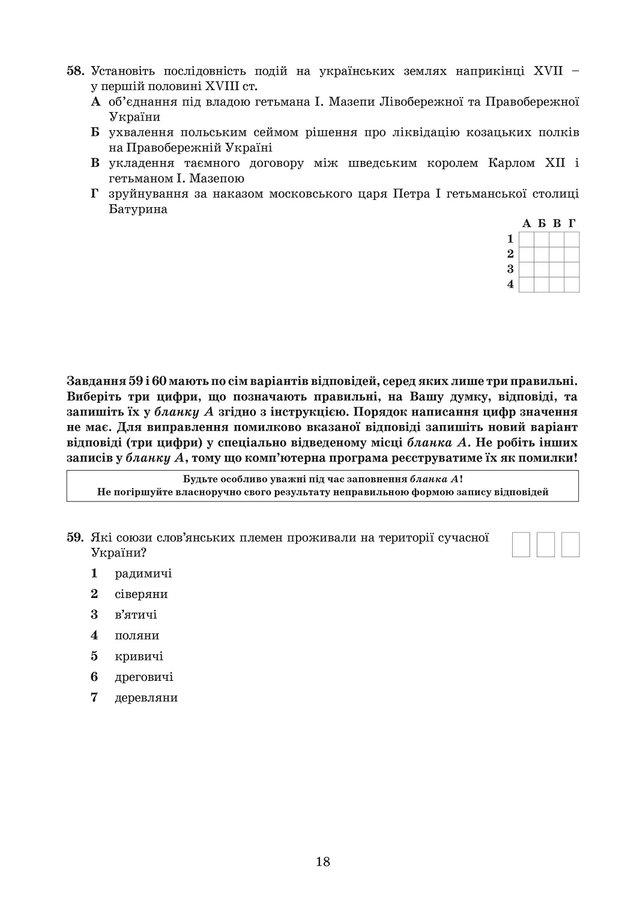 ЗНО з історії України 2019: опубліковані завдання цьогорічного тесту - фото 331914