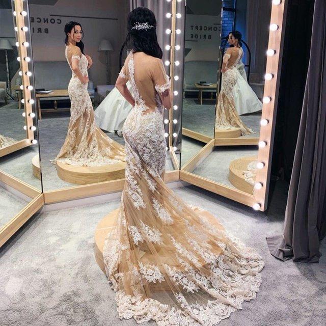 Катерина Кухар показала себе у весільній сукні - фото 332320