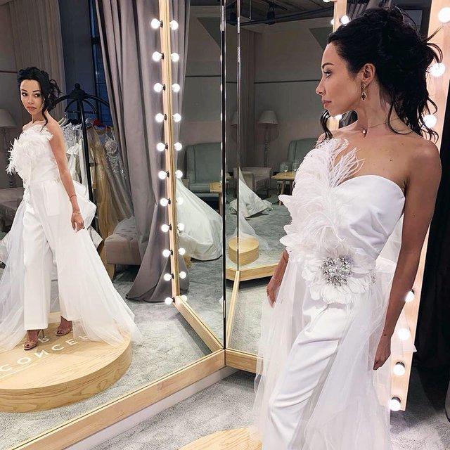Катерина Кухар показала себе у весільній сукні - фото 332321