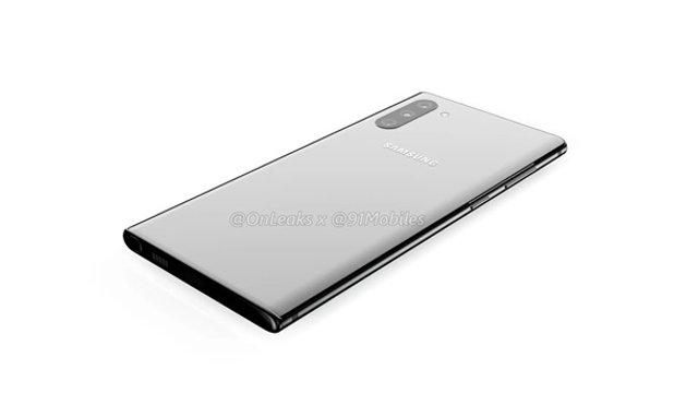 Samsung Galaxy Note10: розсекречено дизайн нового флагмана - фото 332343