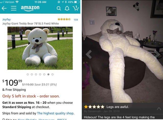 Найневдаліші покупки, зроблені онлайн: смішні фото - фото 332537