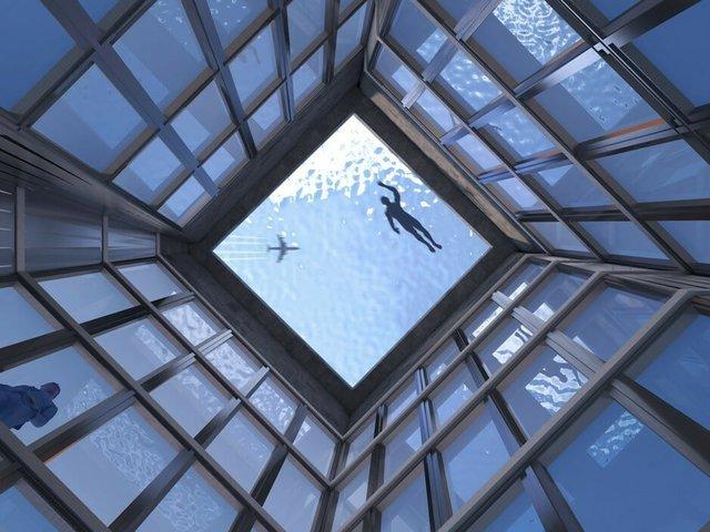 На хмарочосі в Лондоні з'явиться басейн, але ніхто не розуміє, як звідти вибратися: фото - фото 332557