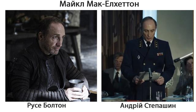 Гра престолів і Чорнобиль: 7 акторів, які знялися в обох серіалах - фото 332603