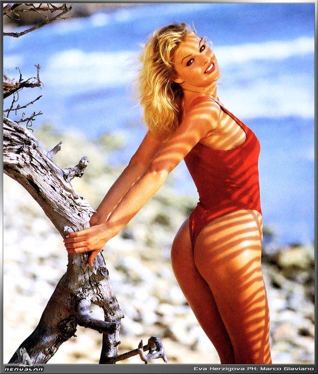 Моделі 90-х: як змінилася найсексуальніша чешка Єва Герцигова (18+) - фото 332673