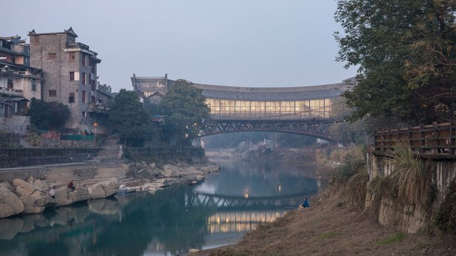 Як виглядає новий міст-музей у Китаї - фото 332728