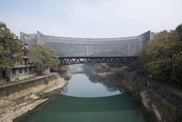 Як виглядає новий міст-музей у Китаї - фото 332731