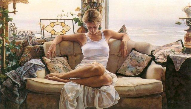 Сексуальні дівчата, намальовані аквареллю - фото 333031
