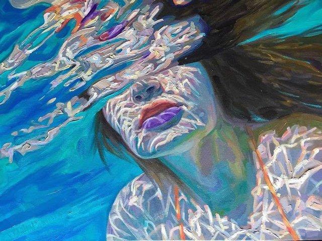 Жінки під водою: ці фото змусять вас затримати погляд - фото 333283