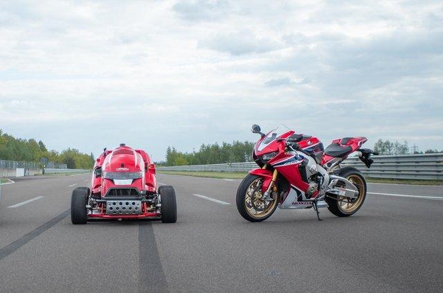 Газонокосарка Honda встановила новий рекорд Гіннеса - фото 333400