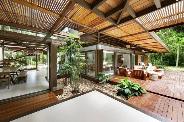 Архітектори створили розкішну тропічну віллу в Бразилії: фото - фото 333479