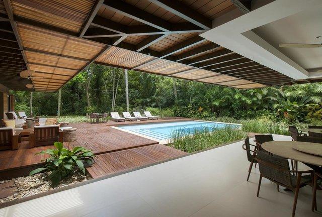 Архітектори створили розкішну тропічну віллу в Бразилії: фото - фото 333482