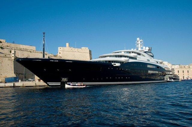 Яхта принца Саудівської Аравії Мухаммеда бін Салмана - фото 333576