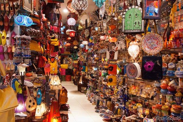 Арабський ринок/Медіна у Тунісі - фото 333645