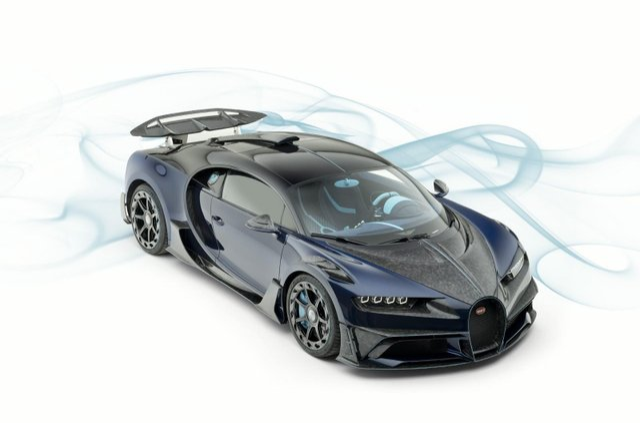 Кастомний Bugatti Chiron виставили на торги: ціна вас вразить - фото 333864