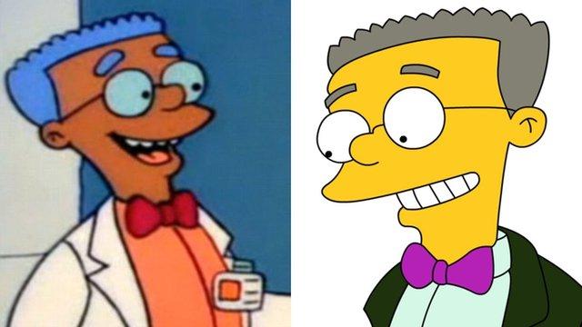 Як змінилися герої улюбленого мультика Сімпсони: тоді і зараз - фото 333999