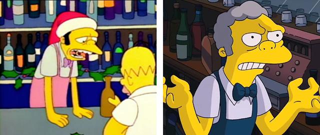 Як змінилися герої улюбленого мультика Сімпсони: тоді і зараз - фото 334004
