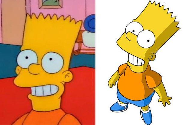 Як змінилися герої улюбленого мультика Сімпсони: тоді і зараз - фото 334005