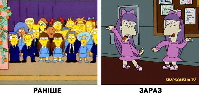 Як змінилися герої улюбленого мультика Сімпсони: тоді і зараз - фото 334007