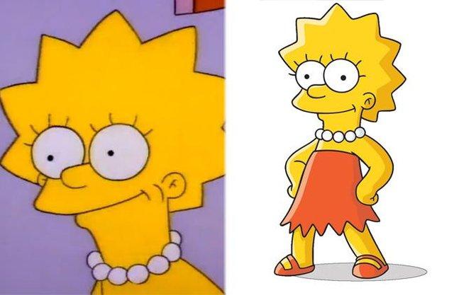 Як змінилися герої улюбленого мультика Сімпсони: тоді і зараз - фото 334008
