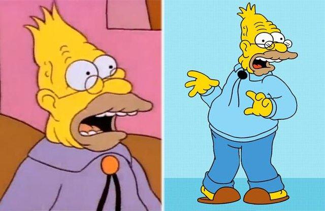 Як змінилися герої улюбленого мультика Сімпсони: тоді і зараз - фото 334010