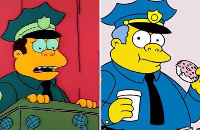 Як змінилися герої улюбленого мультика Сімпсони: тоді і зараз - фото 334011